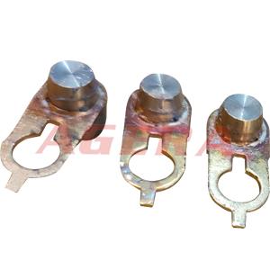 黄铜导电嘴钎焊样品