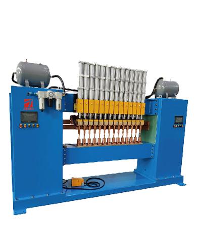 龙门式板材散热器自动多点焊机