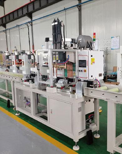 抗震支架自动双头焊接生产线
