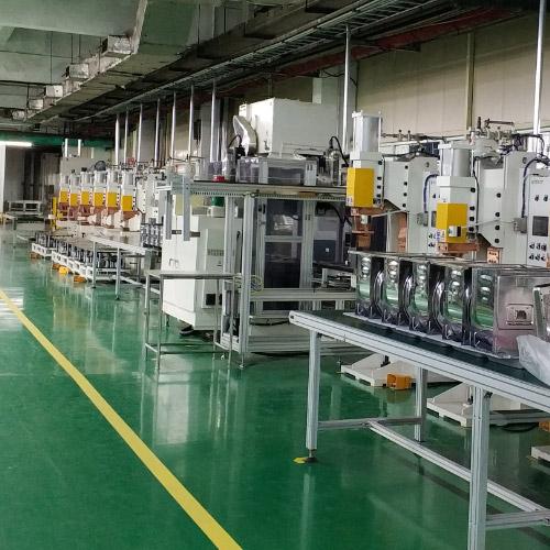 微波炉外壳全自动点焊生产线