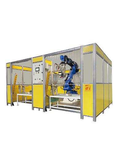 空调底板机器人点焊工作站