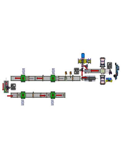 汽车制动鼓全自动焊接线