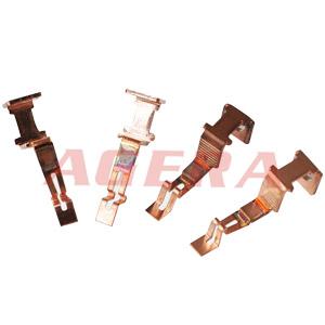 铜连接片凸焊样品
