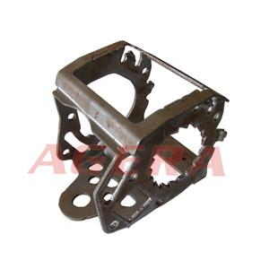汽车安全带多点凸焊样品
